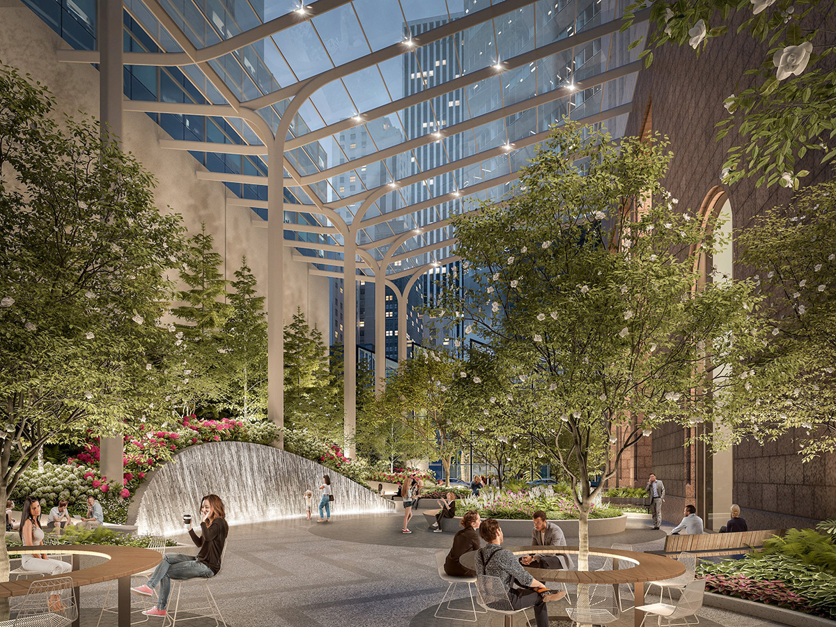 A New Garden Grows Within New York City Building